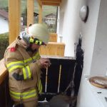 Balkonbrand Mitarbeiterhaus Puradies 5