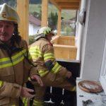 Balkonbrand Mitarbeiterhaus Puradies 4