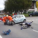Verkehrsunfall Bundesstraße 1