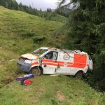 Rettungswagen abgestürzt 2