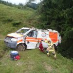 Rettungswagen abgestürzt 4