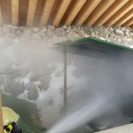 Containerbrand Holzhotel Forsthofalm 7