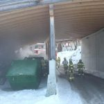 Containerbrand Holzhotel Forsthofalm 1