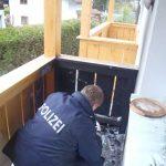 Balkonbrand Mitarbeiterhaus Puradies 2