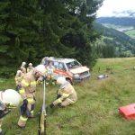 Rettungswagen abgestürzt 5