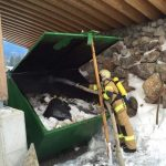 Containerbrand Holzhotel Forsthofalm 8