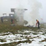 Übung mit den Leoganger Bergbahnen 7