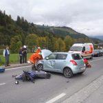 Verkehrsunfall Bundesstraße 2