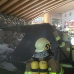 Containerbrand Holzhotel Forsthofalm 2